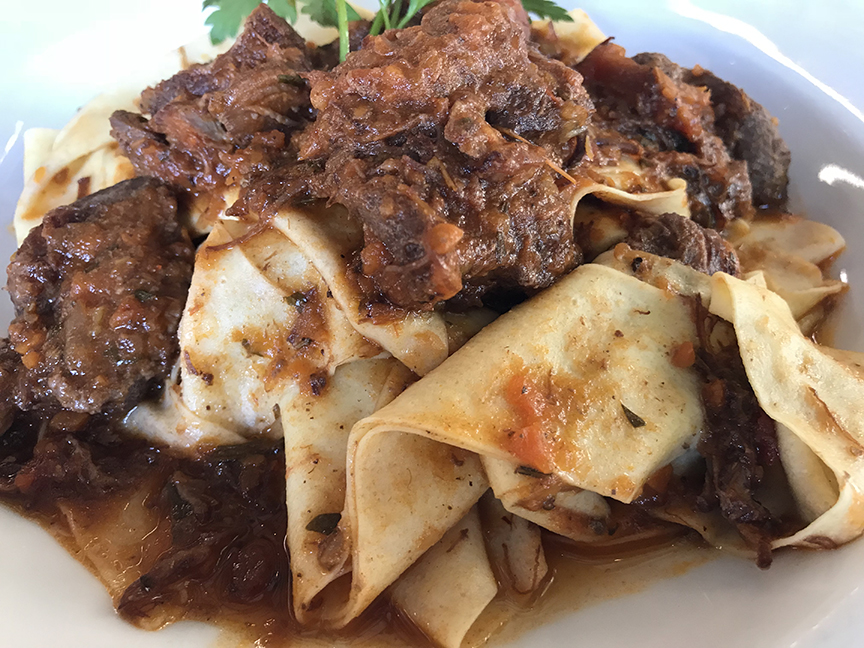 Classic Tuscan cooking for fall: Chef Harvey's pappardelle with wild boar ragù